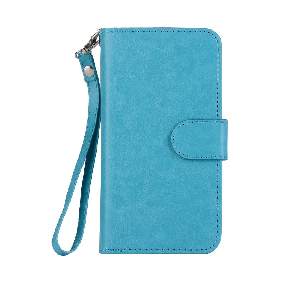 Apple iPhone X 2 i 1 Deluxe FlipDeksel M. Kortholder - Blå