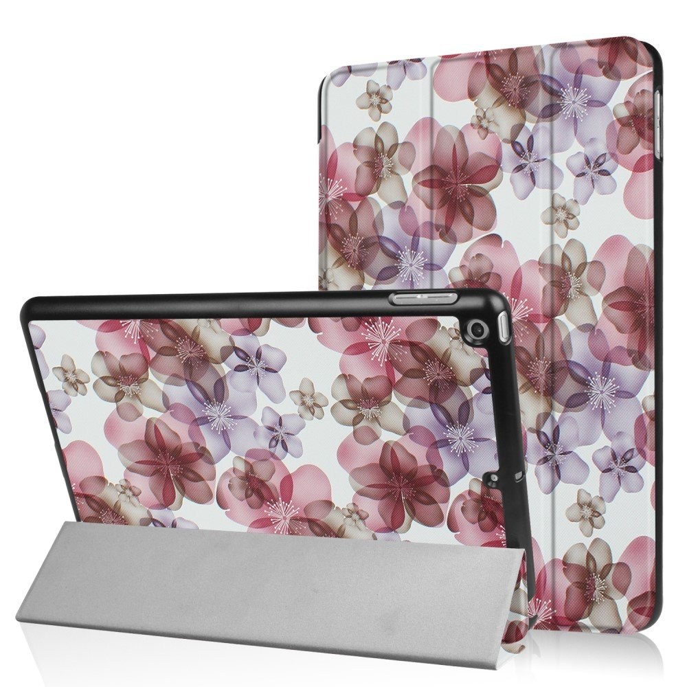 Apple iPad 9.7 2017/2018 Smart Deksel m. Stand - Pretty Flowers