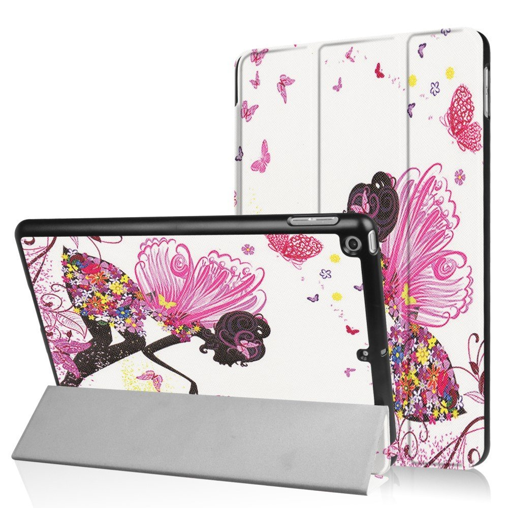 Apple iPad 9.7 2017/2018 Smart Deksel m. Stand - Flowered Fairy