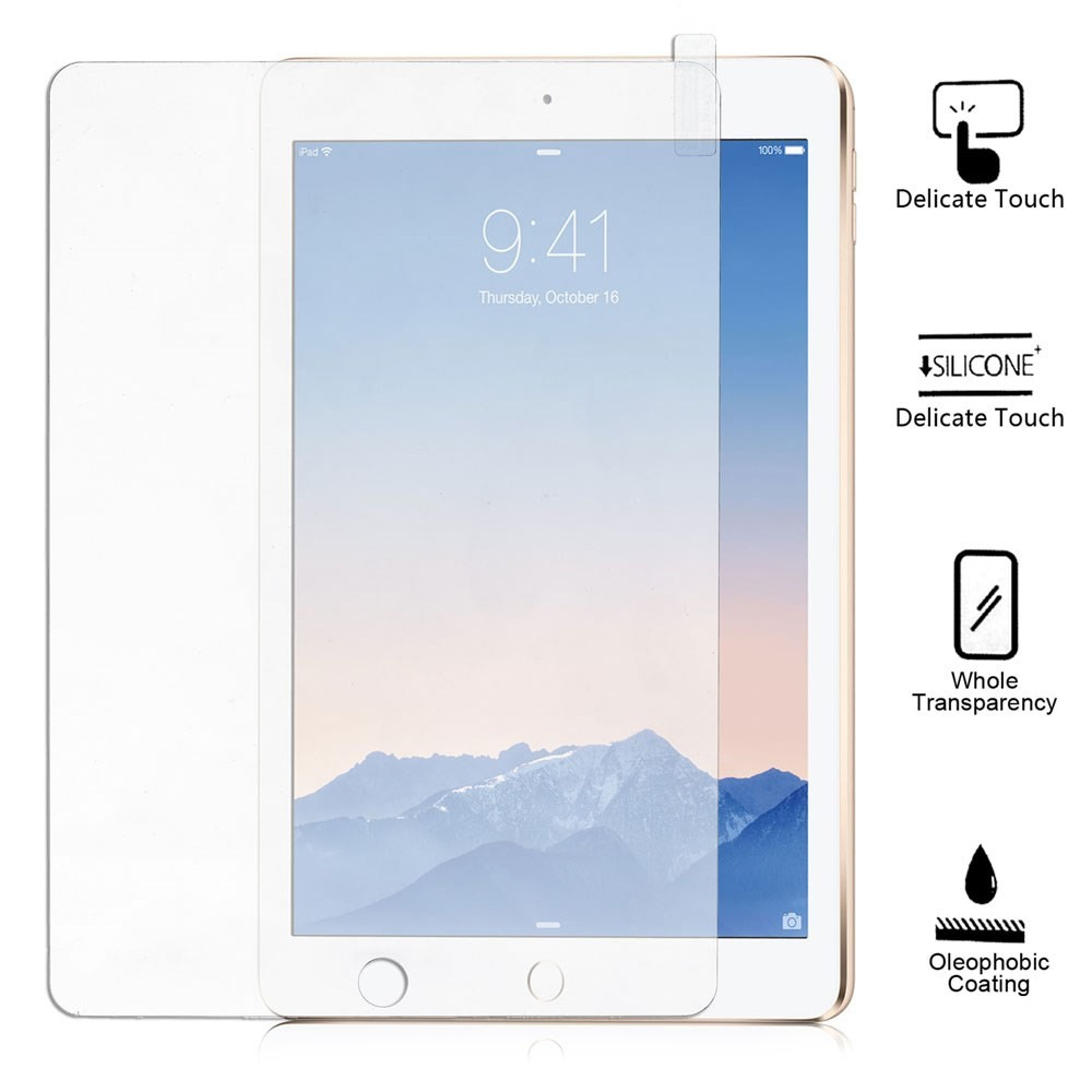iPad Air & Air 2 PanserPro Herdet Glass Skjermfilm