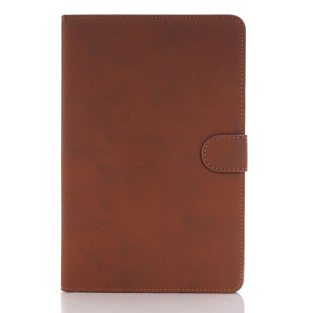 Apple iPad Mini 4 skinn Deksel m. Stand - Brun