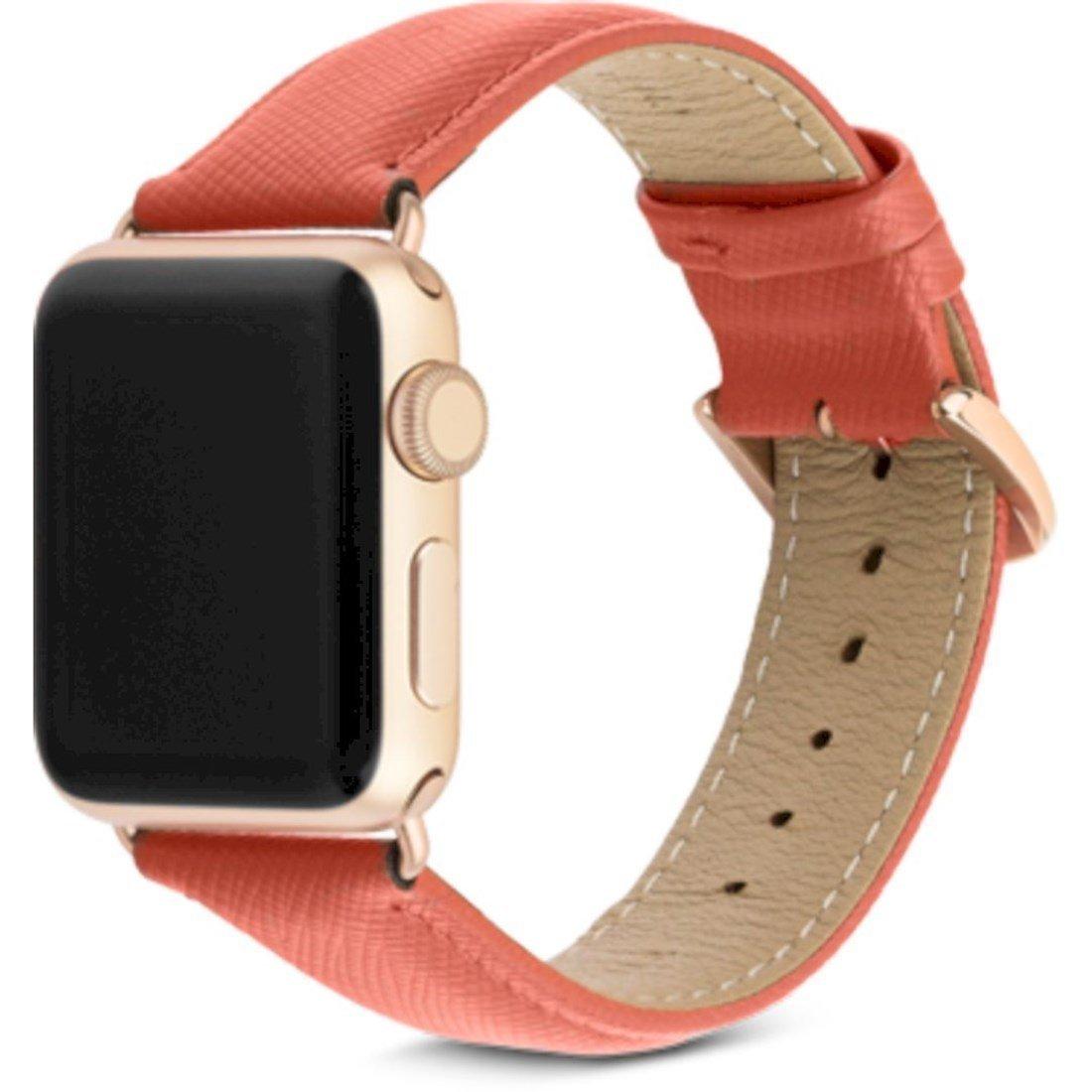 dbramante1928 Apple Watch (38-40mm.) Dbramante1928 Mode Watch Strap Reim M. Pinner - Rusty Rose