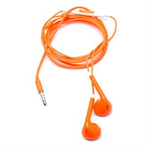 Hodetelefoner Med Mikrofon - Oransje