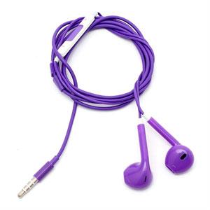 Hodetelefoner Med Mikrofon - Lilla