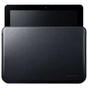 Samsung Galaxy Tab 8.9 Etui - Svart Skinn
