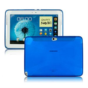 Samsung Galaxy Note 10.1 TPU X-line Deksel - Blå