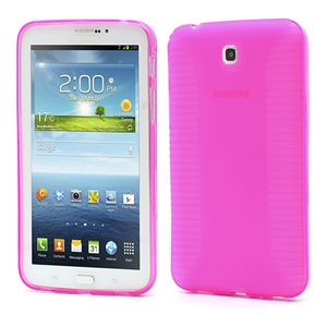 Samsung Galaxy Tab 3 7.0 inCover TPU Deksel - Rosa