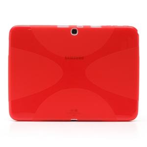 Samsung Galaxy Tab 3 10.1 TPU Deksel - Rød
