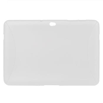 Samsung Galaxy Tab 10.1 TPU Deksel - Gjennomsiktig