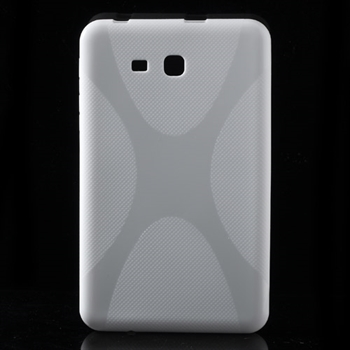 Samsung Galaxy Tab 3 Lite inCover TPU Deksel - Hvit
