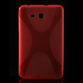 Samsung Galaxy Tab 3 Lite inCover TPU Deksel - Rød