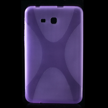 Samsung Galaxy Tab 3 Lite inCover TPU Deksel - Lilla