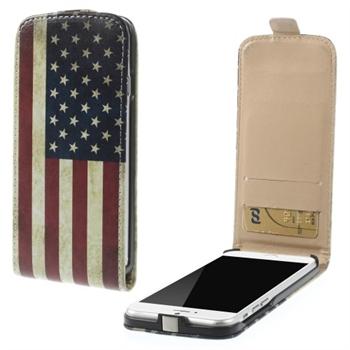 Apple iPhone 6/6s Design Flip Deksel - Stars & Stripes