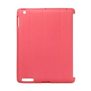 Apple iPad 2 TPU Deksel Fra - lyserød