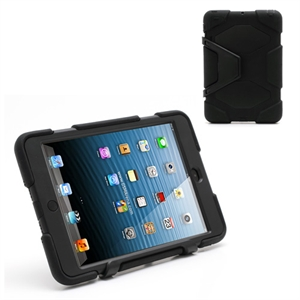 Anti-Rain Heavy Duty Case Til Apple iPad Mini - Svart