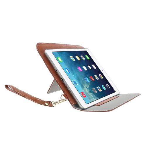 iPad Mini skinn Etui/Taske m. Stand - Brun