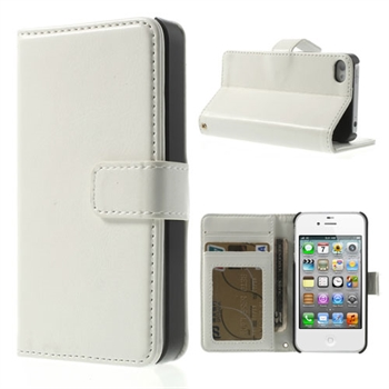 Apple iPhone 4S FlipStand Etui - Hvit
