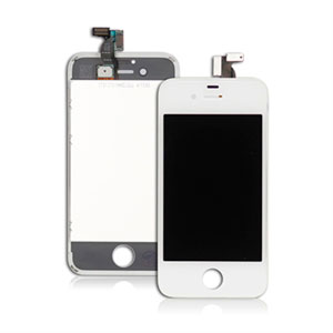 Apple iPhone 4S LCD og touch display - Hvit