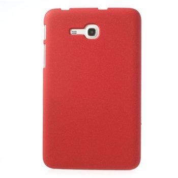 Samsung Galaxy Tab 3 Lite inCover Quicksand Plastikk Deksel - Rød