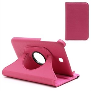 Samsung Galaxy Tab 3 7.0 Rotating KickStand - Mørk Rosa