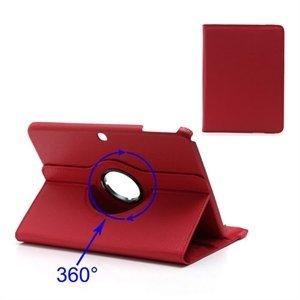 Samsung Galaxy Tab 3 10.1 Rotating KickStand - Rød