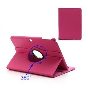 Samsung Galaxy Tab 3 10.1 Rotating KickStand - Mørk Rosa
