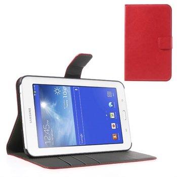 Samsung Galaxy Tab 3 Lite KickStand - Rød